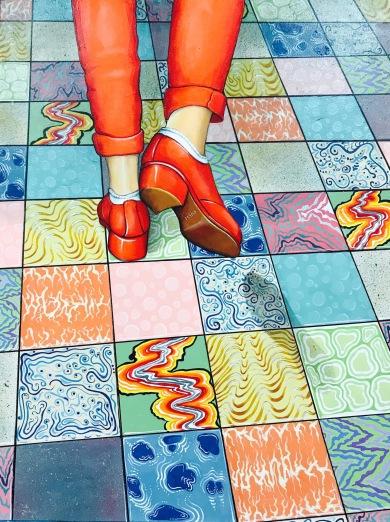 """Feet Don't Fail Me Now 24""""x18"""" - $2,100"""